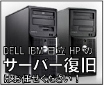 DELL,IBM,��,HP�̃T�[�o�[�̃f�[�^�����͂��C����������